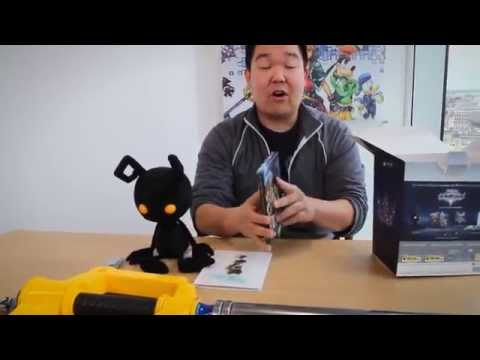 Kingdom Hearts HD 2.5 ReMIX Collector's Edition unboxing