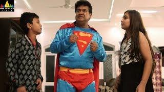 Badmash Pottey Movie Scenes | Gullu Dada Comedy as Superman | Latest Hyderabadi Comedy Scenes - SRIBALAJIMOVIES