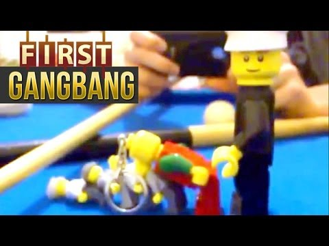 FIRST GANGBANG THE LEGO 2014 (First kiss & First Handjob parody)