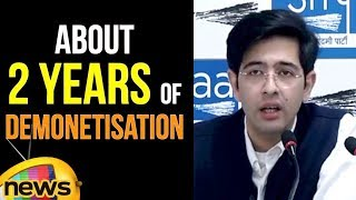 AAP leader Raghav Chadha briefed on 2 years of Demonetisation | Latest News Updates | Mango News - MANGONEWS