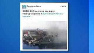 حريق الغواصة الروسية «أوريل»