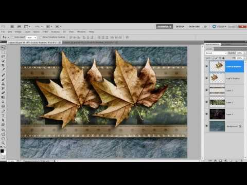 Using the tabbed view in Photoshop CS4/CS5