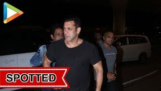 Salman Khan SPOTTED at Airport , Mumbai - HUNGAMA