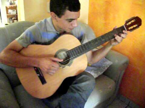 Izaias de Jandira- SP no violão solo, hino ccb