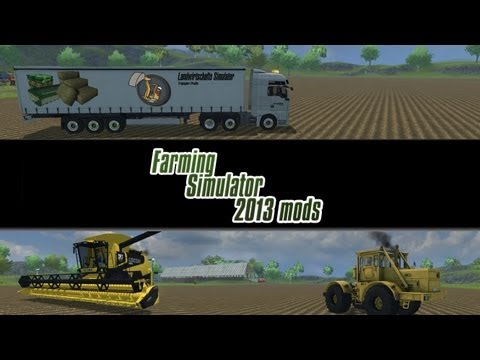 Farming Simulator 2013 Mod Spotlight - S2E7 - Mammoet Trailer, Power Washer, and Trucks