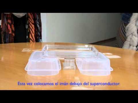 Levitación magnética superconductora