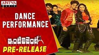 Dance Performance @ Inttelligent Pre Release Event | Sai Dharam Tej, Lavanya Tripati | V. V. Vinayak - ADITYAMUSIC