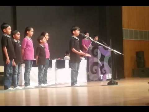 Rudra's recitation Final Round GUJARATI