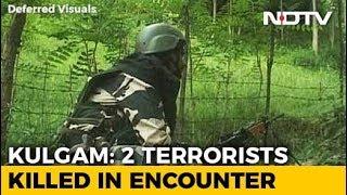 2 Terrorists Shot Dead In Jammu And Kashmir's Kulgam, 1 Surrenders - NDTV