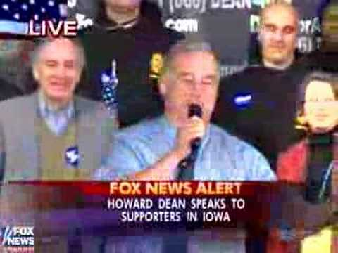 Howard Dean's Scream
