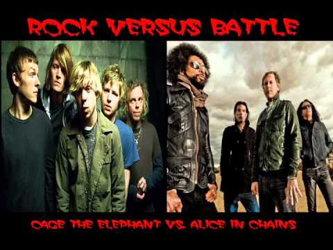 Rock Versus Battle - Cage the Elephant v