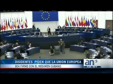Disidentes cubanos y activistas suecos pidieron a la Unión Europea ser firmes con el régimen cubano