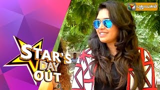 Actress Ishaara Nair in Stars Day Out 22-08-2015 Puthuyugam tv Show
