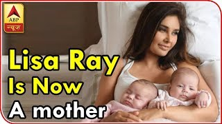 Lisa Ray is now a mother; welcomes twin daughters via surrogacy! See FIRST PIC! - ABPNEWSTV