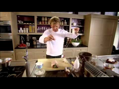 Gordon Ramsay's Stuffed Saddle of Lamb Recipe