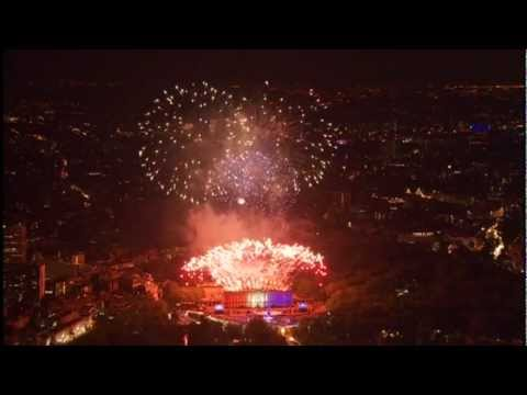 The Queen's Diamond Jubilee concert Fireworks - London 2012 - BBC One