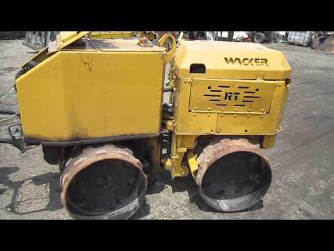 Rodillo Compactador Aplanador Rt820 Diesel Pata De Cabra