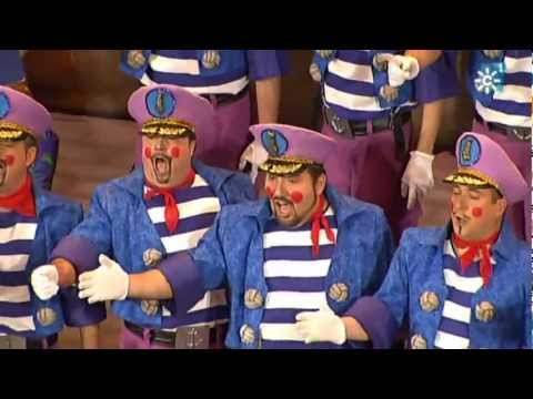 Sesión de Semifinales, la agrupación La cañonera actúa hoy en la modalidad de Coros.