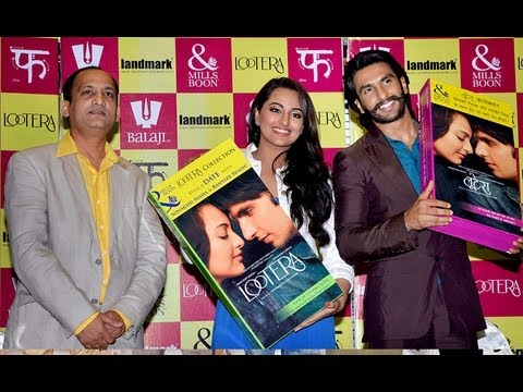 Lootera Movie Promotion - Ranveer Singh & Sonakshi Sinha Promotes 'Lootera' Movie