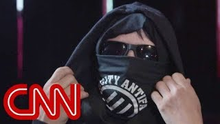 Behind the mask: The people in Antifa - CNN