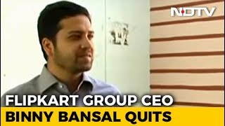"Flipkart's Binny Bansal Quits As CEO After ""Personal Misconduct"" Probe - NDTVPROFIT"