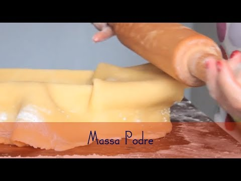 Massa Podre (Receita de Massa Podre - Pâte Brisée)
