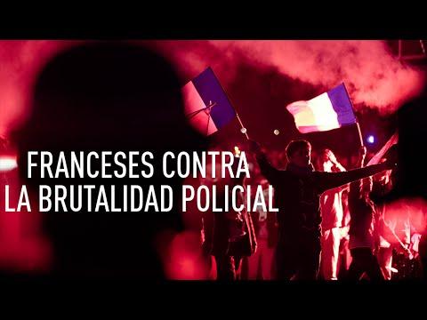 Francia: Violentos altercados en una manifestación contra la brutalidad policial