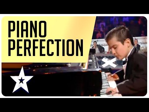 Piano Perfection from a prodigy on Arab's Got Talent