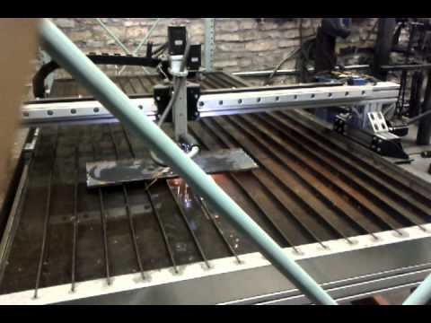 Plasma Cutting in Action