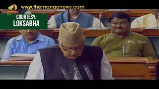 PK Kunhalikutty and Farooq Abdullah Take Oath In Lok Sabha Sessions 2017 | Mango News - MANGONEWS