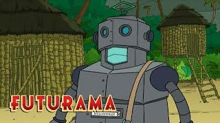 FUTURAMA | Season 5, Episode 14: Island Of Outdated Robots | SYFY - SYFY