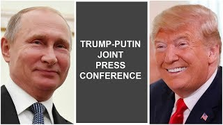Trump-Putin Joint Press Conference - VOAVIDEO