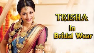 Trisha Most Beautiful Bridal Look Collection - RAJSHRITELUGU