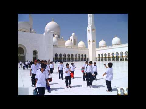 UAS Dubai fieldtrip to Sheikh Zayed Mosque in Abu Dhabi