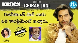 Actor Chirag Jani Exclusive Interview || #KRACK Movie || Talking Movies With iDream - IDREAMMOVIES
