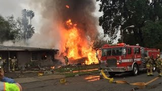 Plane crashed into two homes, several victims - CNN