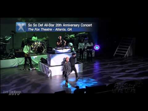 Kris Kross at the So So Def 20th Anniversary Concert