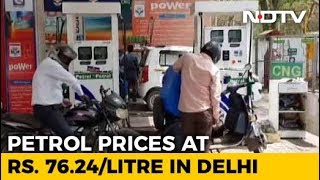 Petrol Prices Zoom To Rs. 76.24 Per Litre, Diesel Touches All-Time High - NDTV