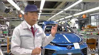 Toyota Banking on Hydrogen Fuel Cell Technology - VOAVIDEO