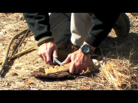 Bow Drill Primitive Fire Starting