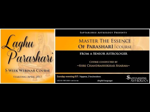 Laghu Parasari  - The Gita Of Astrology - Coming Soon A Course