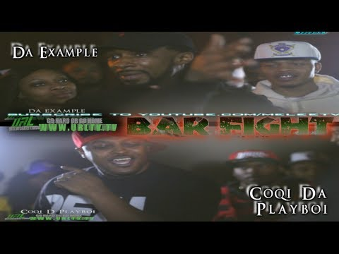 GHOGH|URLTV.TV | DA EXAMPLE VS COQI DA PLAYBOI | BARFIGHT 3.10.13