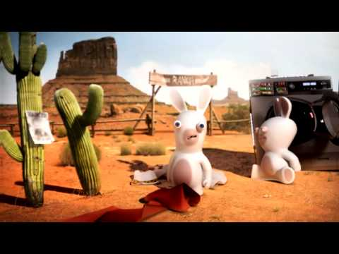 Raving Rabbids: Travel in Time - Caesar Trailer HD