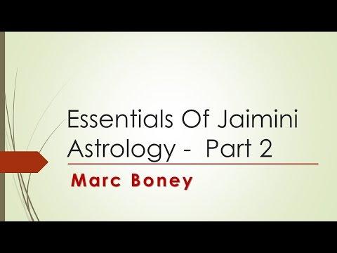 Essentials of Jaimini Astrology - Part 2