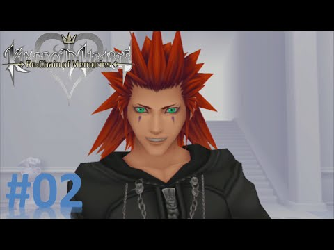 Kingdom Hearts Re:Chain of Memories - Part 2: Traverse Town, Guard Armor, & Axel