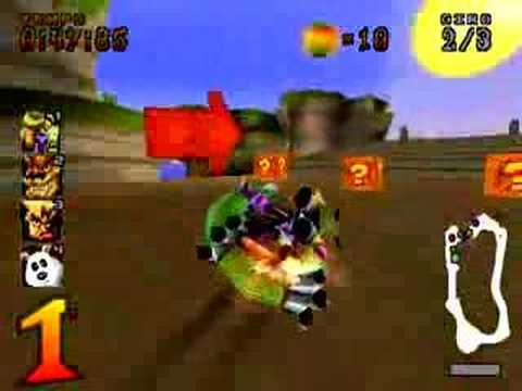 Crash Team Racing - Nitrous Oxide - HIGH quality