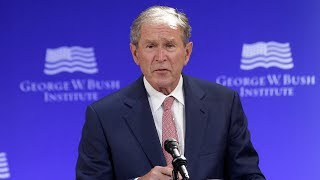 George W. Bush's ardent speech on democracy, in 3 minutes - WASHINGTONPOST