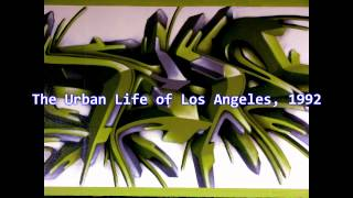 Royalty Free Urban Downtempo End: The Urban Life of Los Angeles 1992