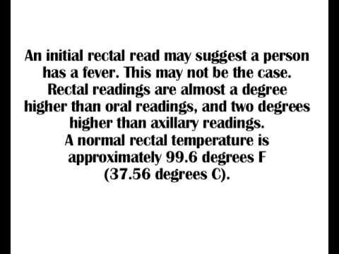 What is a rectal thermometer?