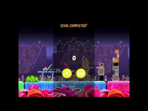 Angry Birds Rio Trophy Room Balloon Walkthrough 3 Star